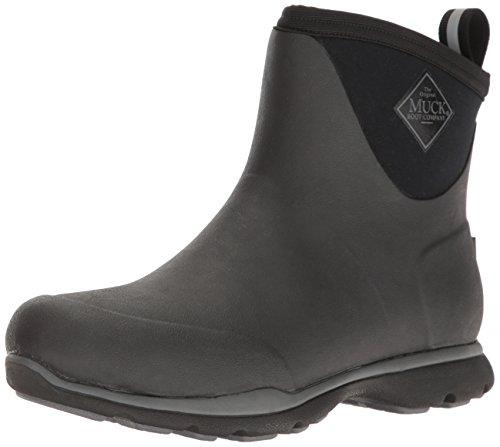 Muck Boots Herren Arctic Excursion Ankle Gummistiefel, Schwarz (Black), 47 EU