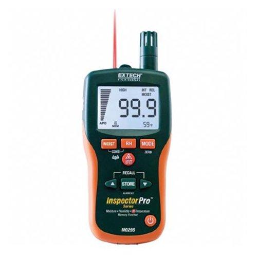 Extech Feuchtigkeitsmessgerät ohne Mess-Stift und IR-Thermometer, 1 Stück, MO295