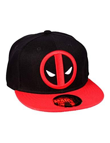 Marvel Unisex Casquette Snapback Deadpool-Legend Icon Visor, schwarz, One Size