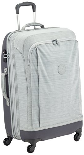 Kipling - SUPER HYBRID M - Wheeled Luggage - Dazz Grey C - (Grey)