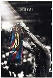 HNGFV Laminas para Cuadros Fondos De Pantalla Lionel Messi-11 Lienzo póster Decoracion Deportes Paisaje Oficina habitación Decoracion Regalo 50x70cm x1 Sin Marco