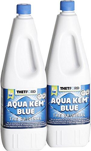 Thetford 1112líquido para inodoros Aqua Kem, 2L, 2unidades)