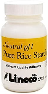 Lineco Pure Rice Starch Adhesive 2 oz. bottle