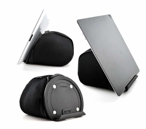 Flotsam iPR-10-2 iPROP Universal Bed & Lap Stand for Tablets, Phones & E-Readers [Black]