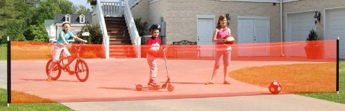 Kidkusion Non Retractable Driveway Safety Net, Orange by KidKusion