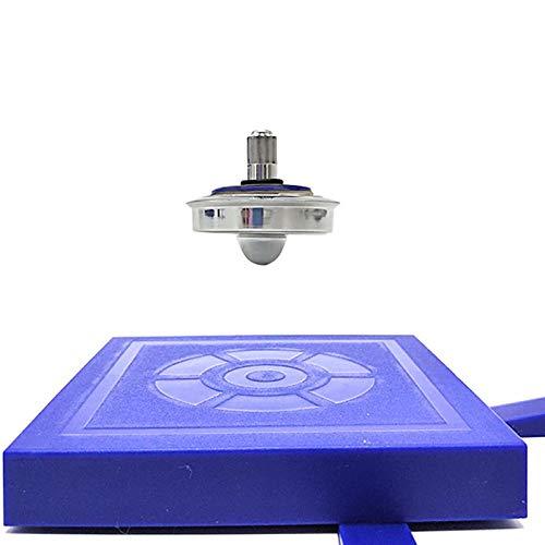 lilizhang Suspensión Giroscopio Imán Movimiento Perpetuo Magnético Platillo Mágico Mágico De Alta Tecnología Instrumento De Enseñanza-Levitación Magnética