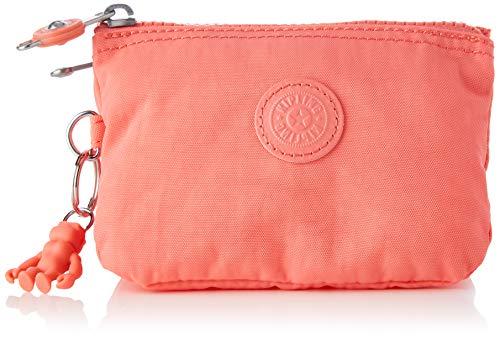 Kipling Women's Creativity S Accessory-Travel Wallet, Fresh Coral, One Siz