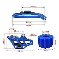 KIILING オートバイチェーンガードガイドスイングアームチェーンスライダーローレススプロケットヤマハWR250F YZ250FX YZ450FX YZ450F YZ450F (Color : M8 Roller Set)