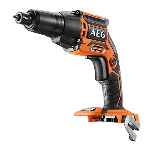 AEG 4935459621 schroevendraaier voor gipsplaten 18 V zonder bezem, zonder accu 's en oplader