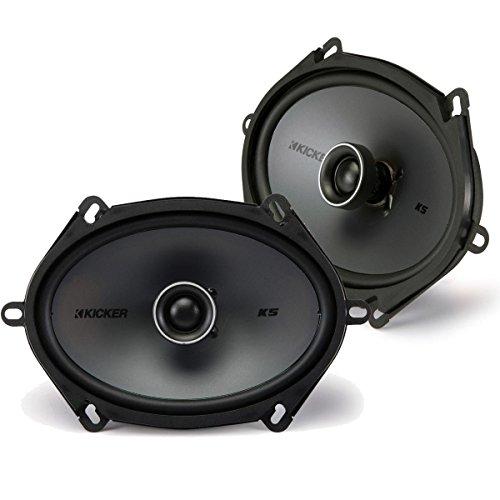 """Kicker 41KSC684 6x8"""" Coaxial 2-Way Speaker Pair"""