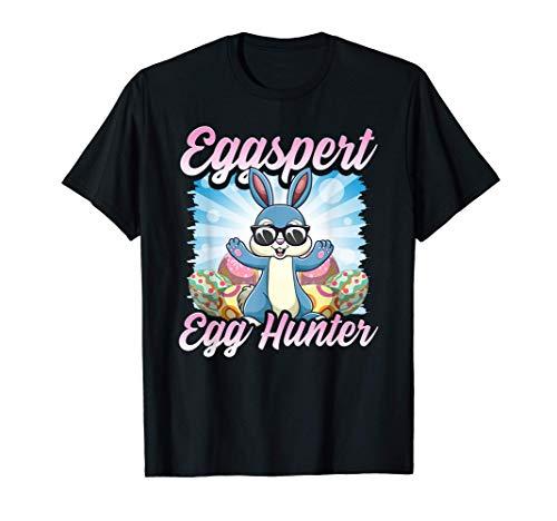 El juego de palabras del conejo de Pascua de Eggspert Cazado Camiseta