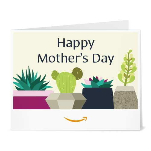 Amazon Gift Card - Print - Mother's Day Succulents