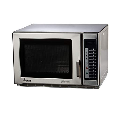 Amana Commercial Microwave Oven, 1.2 cu. ft, 1200 watts, medium volume, 4-stage cooking