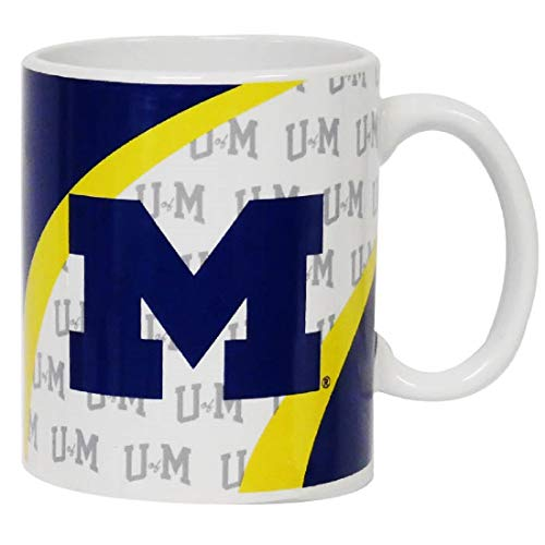 Jenkins Enterprises Michigan Wolverines Ceramic Vortex Mug