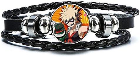 St Mandyu My Hero Academia Bracelet Wristband Adjustable Izuku Midoriya Todoroki Shoto Katsuki product image
