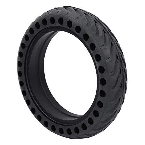 Alinory Neumático De Goma, Neumático De Cubierta Semisólida Antideslizante De Goma Negra De 8,5 Pulgadas para Neumático De Repuesto Inflado para Scooter Eléctrico Mijia M365