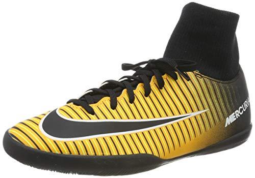 Nike Unisex-Kinder Jr. Mercurial X Victory 6 Dynamic Fit IC Fußballschuhe, Mehrfarbig (Laser Orange/Black-White-Volt), 37.5 EU