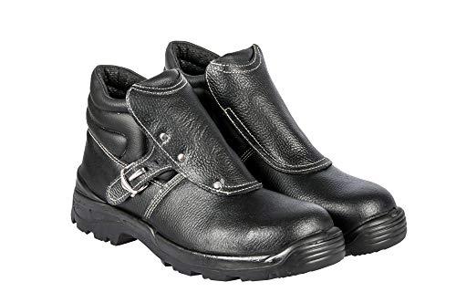 Arbeitsstiefel SCHWEIßERSTIEFEL PPO443 S3 SRC ISO 20345 - Arbeitsschuhe Sicherheitsschuhe Herrenschuhe Schuhe mit Stahlkappe (40)