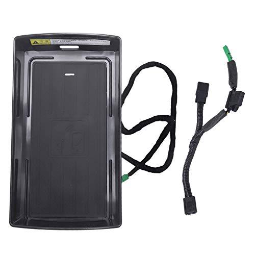 outingStarcase Por A3 2014-2019 Carro de Carga Qi Cargador de teléfono de Carga rápida Caja del Coche de los apoyabrazos Caja Accesorios for 8 X