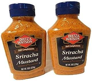 Dietz & Watson Sriracha Mustard - 2 bottles