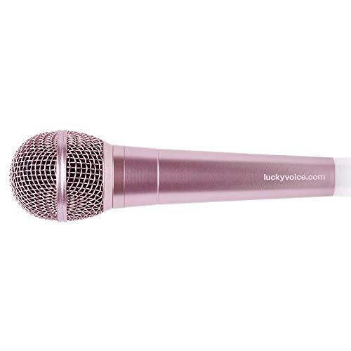 Lucky Voice Karaoke Microfoon - PARENT ASIN Rosegoud