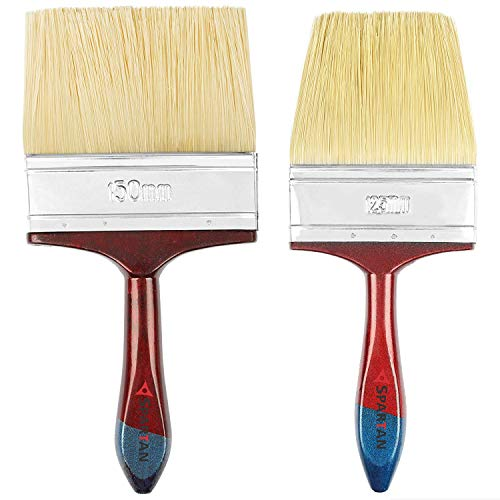 Spartan Combo of 5 Inch (125mm) and 6 Inch (150mm) Paint Brush...