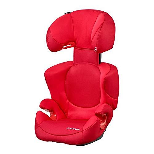 Maxi-Cosi Rodi XP Kindersitz, mitwachsender Gruppe 2/3 Autositz (15-36 kg), nutzbar ab 3,5 bis 12 Jahre, poppy red