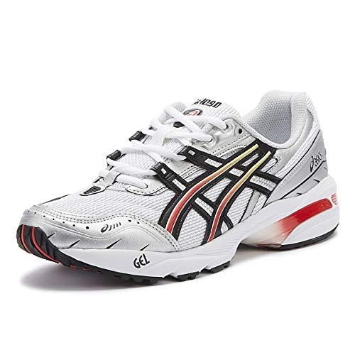 ASICS Gel-1090 Herren Weiß/Schwarz Sneakers-UK 11 / EU 46.5
