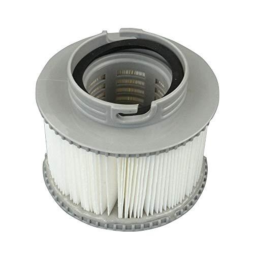 Mogzank para Filtros MSPA Filtro de Piscina Inflable Tubo de Hidromasaje Repuesto Cartucho de Filtro Spas