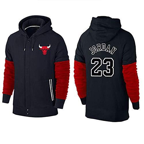 Dybory Chaqueta Capucha NBA Bulls # 23 Jordan, Sudadera con Capucha De...