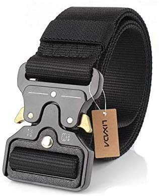 Nylon Military Waist Tactical Belt with Metal Buckle Adjustable LATT LIV