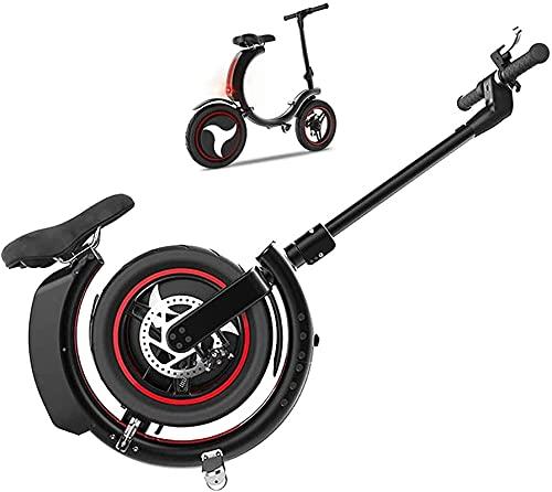 Bicicleta electrica Bicicleta eléctrica, Plegable de 14 Pulgadas 36V ebike con batería de Litio 7.8AH, Bicicleta de la Ciudad Velocidad máxima 25 km/h, Peso Ligero Adecuado para Hombres Mujeres Ciud
