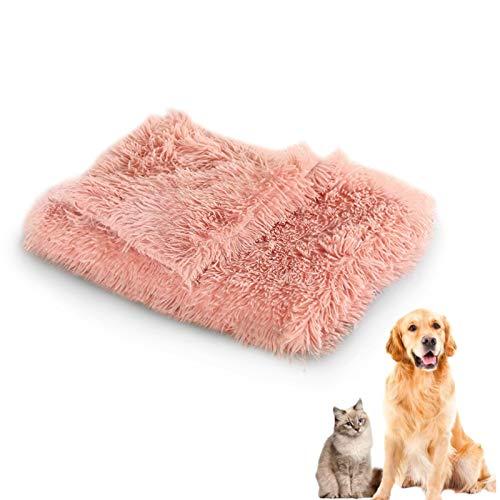 TaimeiMao Gatos Felpa Mantas,Mantas Mascotas Suave y Cálido,Perros Lavable Mantas,Mascotas Mantas Suave Felpa,Suave Animal Manta,Manta Perros Mascotas (Polvo de Piel)