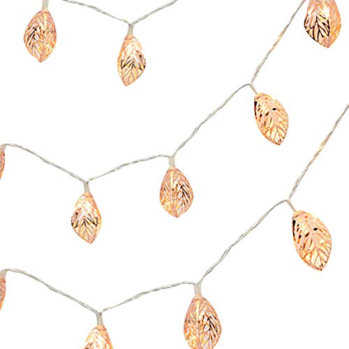 Fineday 2M 10LED String Lights Iron Leaves Light for Wedding Holiday Wedding, LED Light, Products for Christmas
