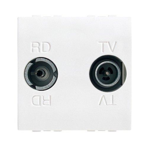 Legrand N4211D Radio/TV doos 2Mod.
