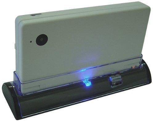 KIICKS - ESTACIÓN DE CARGA para NINTENDO DSi - Charging Dock with LED Charge Light Indicator / Base de Carga con Lampa LED - Diseñado por KIICKS  Exclusivamente para Nintendo DSi Videojeugo Consola - NEGRO