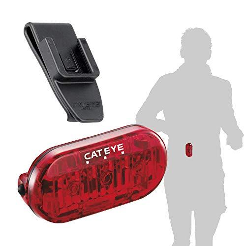 CATEYE Unisex– Erwachsene Omni3 Kleiderleuchte, rot, 3 Leuchtmodi