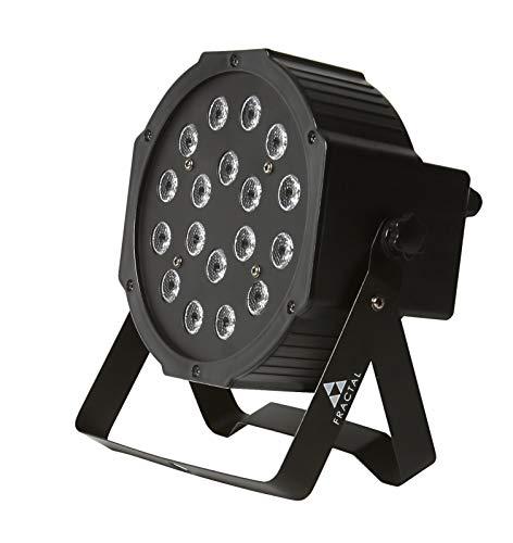 Fractal Par LED 18 x 1 W Dmx RGB, iluminación con cambio de color, sonido automático, para fiestas, discotecas, DJ, escenarios, efectos de luz, efectos de luz