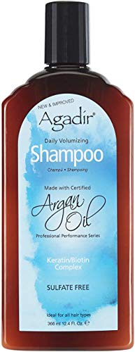 AGADIR Daily Volumizing Shampoo, 12.4 Fl Oz
