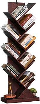 Bathwa 9-Shelf Floor Standing Tree Bookcase