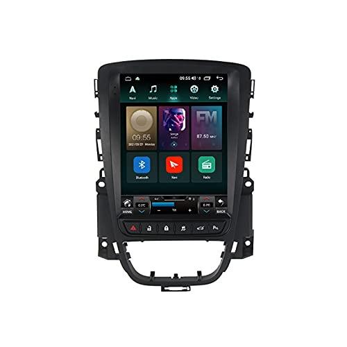 ADMLZQQ Autoradio per Opel Astra J 2009-2015 Android 11 2 DIN con Bluetooth per Auto 9.7'' IPS Touchscreen 5G WiFi Auto Info GPS Plug And Play Completo RCA Supporto Carautoplay/Dab+/OBDII,Ts6