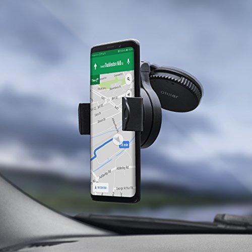 Mobiele telefoonhouder voorruit/mobiele telefoon houder voorruit - Smartphone houder ruit - mobiele telefoon/auto glas houder - windsscreen auto houder - zuignap - Olixar Omniholder - Universal