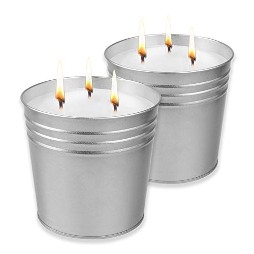 Rock Island Trail 4oz Candle Beeswax and Coconut Made with Soy Paraffin Free!!