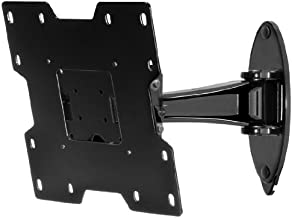 Peerless SP740P SmartMount Pivot Wall Arm, Black