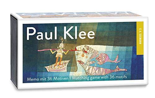Paul Klee. Memo: Gedächtnisspiel mit 36 Motiven
