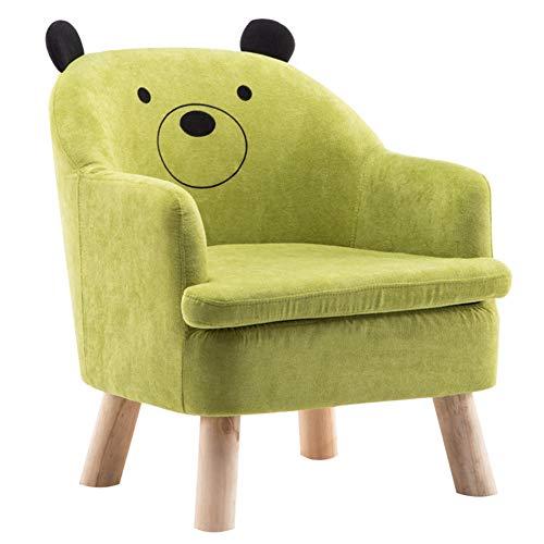 QWERT Kindersofa Kindercouch Mini Kindersessel Sofa BettCartoon Kinder Sofa Gepolsterte Sessel Couch Sofa Kinder Polsterstuhl Kleinkind Stuhl Kinder Lounge Sofa-D 58x60x66cm(23x24x26)