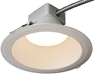 GE Lighting RX810830MV RX Series 8 in Round Retrofit LED recessed Downlight, White