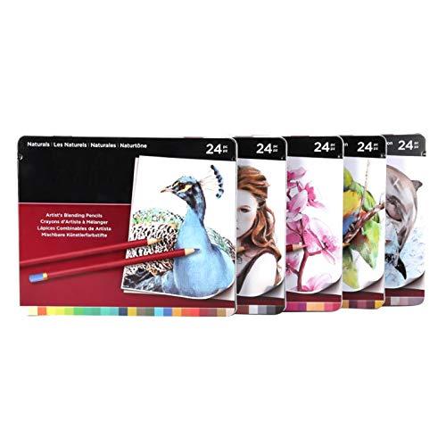 Lápiz de color profesional de 120 colores, lápices de colorear a base...
