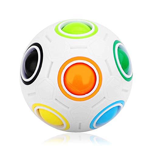 N-PIR Premium REGENBOGENBALL I Verbessertes Ball Spielzeug 2021 I Geschicklichkeitsspiel für Kinder 2.0 I Mädchen Jungen ab 6 Jahre von Deutscher Marke
