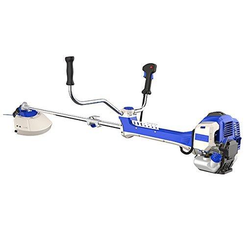 Hyundai 51cc 2-Stroke Anti-Vibration Petrol Grass Trimmer/Strimmer/Brushcutter HYBC5080AV - Blue